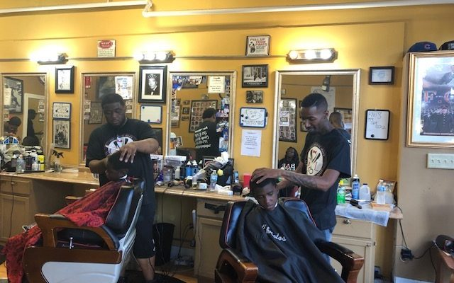 Three barbers working furiously… and a fourth murdered