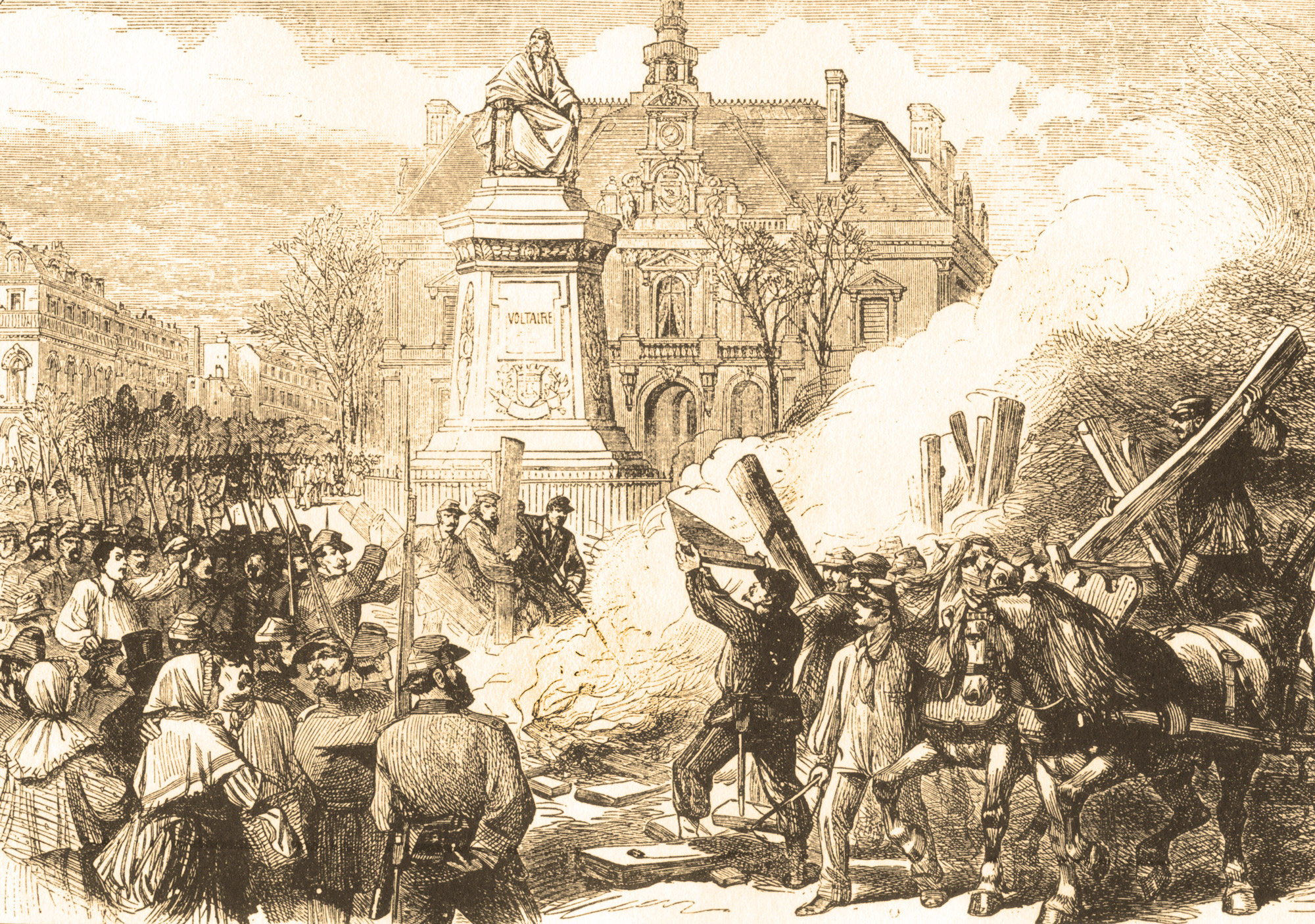 HARD CRACKERS- Against the Logic of the Guillotine: Why the Paris Commune Burned the Guillotine—and We Should Too